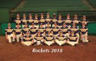 Catholic Rockets Boys Varsity Baseball Spring 17-18 team photo.