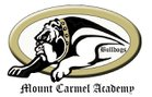 Mount Carmel Academy Bulldogs Boys Varsity Baseball Spring 17-18 team photo.