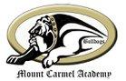Mount Carmel Academy Bulldogs Boys Varsity Baseball Spring 17-18 team photo.