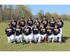 Bradford Eagles Boys Varsity Baseball Spring 17-18 team photo.