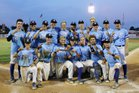 Columbus North Bulldogs Boys Varsity Baseball Spring 17-18 team photo.