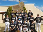 Mesa Vista Trojans Boys Varsity Baseball Spring 17-18 team photo.