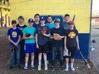 Bergman Panthers Boys Varsity Baseball Spring 17-18 team photo.