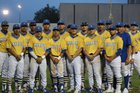 Milby Buffs Boys Varsity Baseball Spring 17-18 team photo.