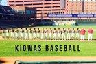 Booker Kiowas Boys Varsity Baseball Spring 17-18 team photo.