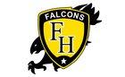 Franklin Heights Falcons Boys Varsity Baseball Spring 17-18 team photo.
