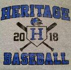 Heritage Panthers Boys Varsity Baseball Spring 17-18 team photo.