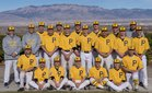 St. Pius X Sartans Boys Varsity Baseball Spring 17-18 team photo.