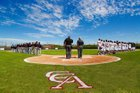 Canyon Crest Academy Ravens Boys Varsity Baseball Spring 17-18 team photo.