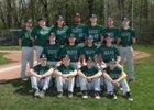 Avon Braves Boys Varsity Baseball Spring 17-18 team photo.