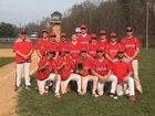 Troy Trojans Boys Varsity Baseball Spring 17-18 team photo.