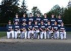 Bainbridge Spartans Boys Varsity Baseball Spring 17-18 team photo.