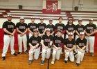 Flippin Bobcats Boys Varsity Baseball Spring 17-18 team photo.