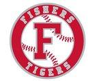 Fishers Tigers Boys Varsity Baseball Spring 17-18 team photo.