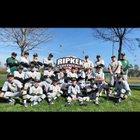 Roosevelt Presidents Boys Varsity Baseball Spring 17-18 team photo.