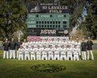 Canyon Comanches Boys Varsity Baseball Spring 17-18 team photo.