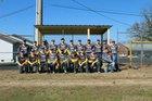 Guy-Perkins Thunderbirds Boys Varsity Baseball Spring 17-18 team photo.