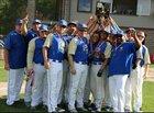 Chestnut Ridge Lions Boys Varsity Baseball Spring 17-18 team photo.