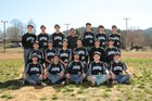 Jasper Pirates Boys Varsity Baseball Spring 17-18 team photo.
