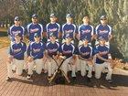 Touchet Indians Boys Varsity Baseball Spring 17-18 team photo.