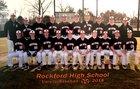 Rockford Rams Boys Varsity Baseball Spring 17-18 team photo.