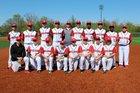 Holmes Bulldogs Boys Varsity Baseball Spring 17-18 team photo.