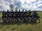 Farmersville Aztecs Boys Varsity Baseball Spring 17-18 team photo.