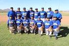 Baboquivari Warriors Boys Varsity Baseball Spring 17-18 team photo.