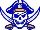 Brunswick Pirates Boys Varsity Baseball Spring 17-18 team photo.