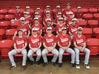 Westside Warriors Boys Varsity Baseball Spring 17-18 team photo.