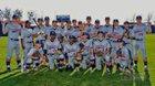 Sachse Mustangs Boys Varsity Baseball Spring 17-18 team photo.