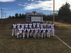Ticonderoga Sentinels Boys Varsity Baseball Spring 17-18 team photo.