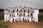 Dora Coyotes Boys Varsity Baseball Spring 17-18 team photo.