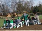 Green County Dragons Boys Varsity Baseball Spring 17-18 team photo.