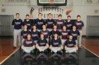 Bruno-Pyatt Patriots Boys Varsity Baseball Spring 17-18 team photo.