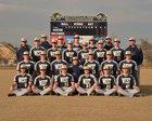 Bentonville West Wolverines Boys Varsity Baseball Spring 17-18 team photo.