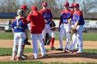 Massac County Patriots Boys Varsity Baseball Spring 17-18 team photo.