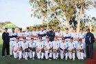 Trinity Christian Warriors Boys Varsity Baseball Spring 17-18 team photo.
