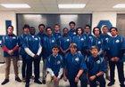 Smithfield Packers Boys Varsity Baseball Spring 17-18 team photo.