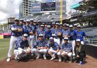 La Jolla Country Day Torreys Boys Varsity Baseball Spring 17-18 team photo.