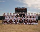 Gravette Lions Boys Varsity Baseball Spring 17-18 team photo.