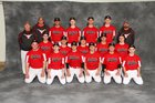 Lutheran West Longhorns Boys Varsity Baseball Spring 17-18 team photo.