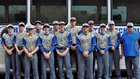 Hill Country Christian Rams Boys Varsity Baseball Spring 17-18 team photo.