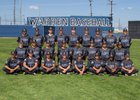 Warren Bears Boys Varsity Baseball Spring 17-18 team photo.