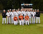Granite Falls Tigers Boys Varsity Baseball Spring 17-18 team photo.