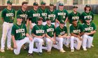 East Chambers Buccaneers Boys Varsity Baseball Spring 17-18 team photo.