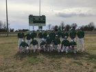 Hoxie Mustangs Boys Varsity Baseball Spring 17-18 team photo.