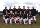 Cheney Blackhawks Boys Varsity Baseball Spring 17-18 team photo.