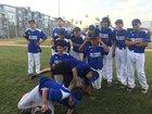 East Valley Falcons Boys Varsity Baseball Spring 17-18 team photo.