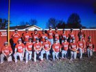 Atkins Red Devils Boys Varsity Baseball Spring 17-18 team photo.